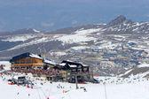Lyžařské svahy lyžařského střediska prodollano ve Španělsku