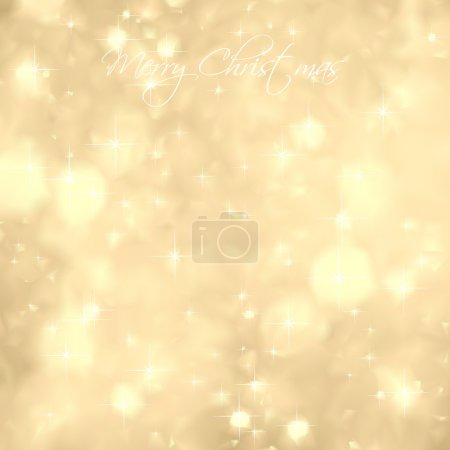 Glittery Gold Background. Vector