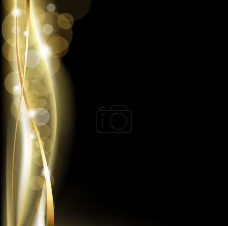 Luxury Background Blackand Gold