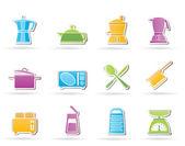 Ikona zařízení kuchyně a domácnosti