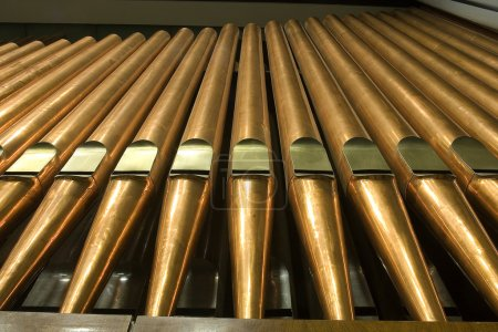 Traditional organ pipes