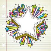 Burst doodle