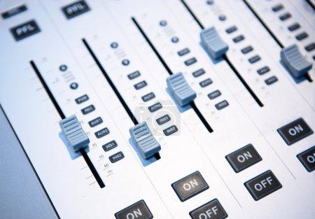 Foto de Mezclador de sonido - Imagen libre de derechos