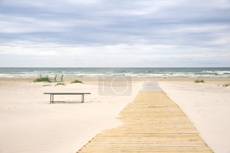 Jurmala (Latvia). The Outlet to the sea