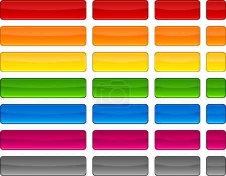 Web blank color buttons.