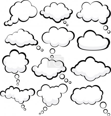 Speech clouds.