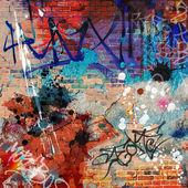 Sfondo di graffiti