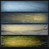 Ice texture banner's set