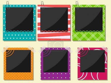 Ilustración de Vector foto frame set - Imagen libre de derechos