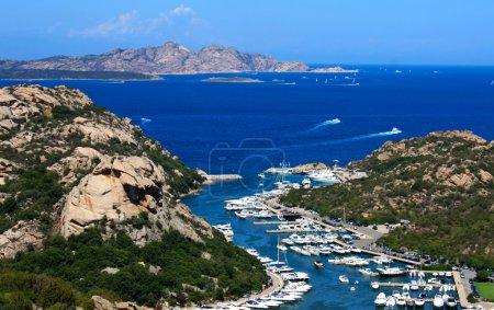 Aerial View Of Poltu Quatu, Sardinia