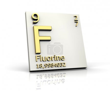 Fluorine form Periodic Table of Elements