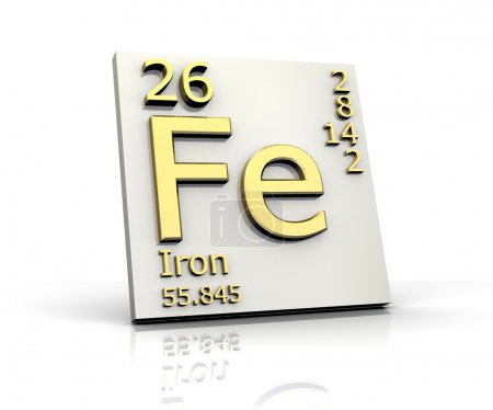 Iron form Periodic Table of Elements