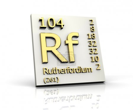 Rutherfordium form Periodic Table of Elements