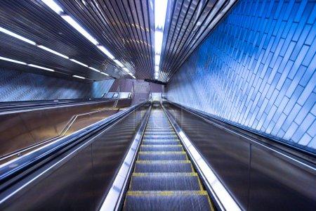 NYC Subway Escalator