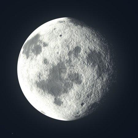 Virtual moon - ou planète