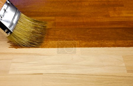 Texture bois et fond pinceau / ménage