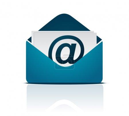 Photo pour Email signe - image libre de droit