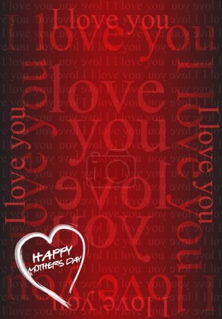 Photo for Happy Mothers day - Royalty Free Image