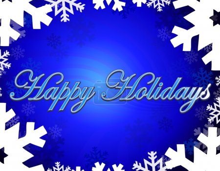 Photo for Happy holidays themed background - Royalty Free Image