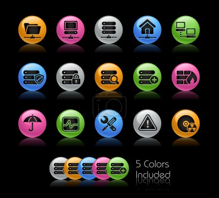 Network, Server & Hosting // Gel Color Series