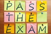Pass the exam