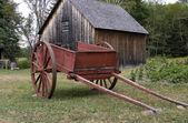 Red Farm Cart