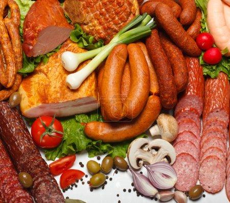 Photo pour Tas de divers légumes frais boucherie produits de Pentecôte - image libre de droit