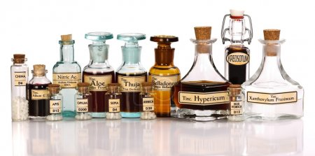 Various mother tincture plant extracts of homeopat...