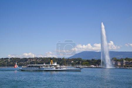 Photo pour Vue de la ville de Genève - image libre de droit