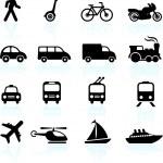 Original vector illustration: Transportation icons...