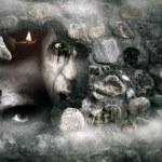 Постер, плакат: Halloween zombies