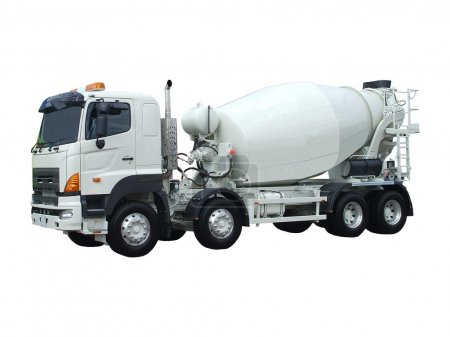 Cement Lorry.