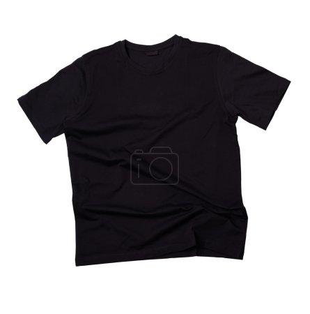 Blank black t-shirt