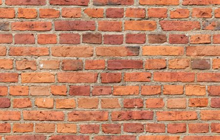 Photo for Red brick wall texture - seamless, high resolution brick wall texture - Royalty Free Image