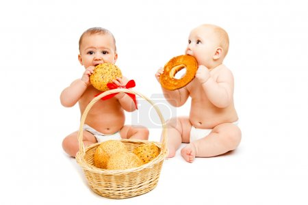 Babies with buns