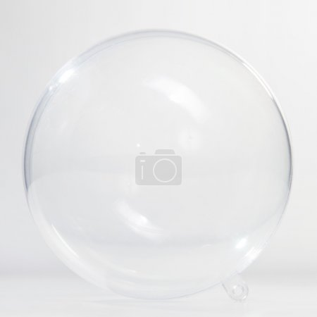 Empty glass ball