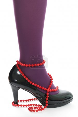 Beads and shoes