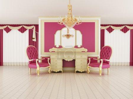 Classical hall interior