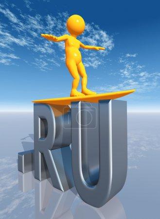 RU Top Level Domain of Russia