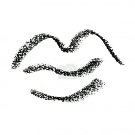 Painted Lips Symbol Outline.
