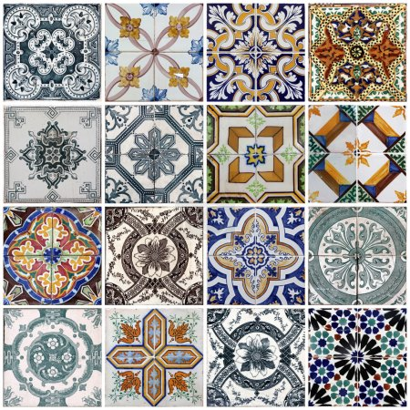 Photo for Traditional tiles on old house in Lisbon, Portugal - Royalty Free Image