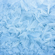 Abstract blue frost background closeup...