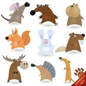 Cartoon animals set #2