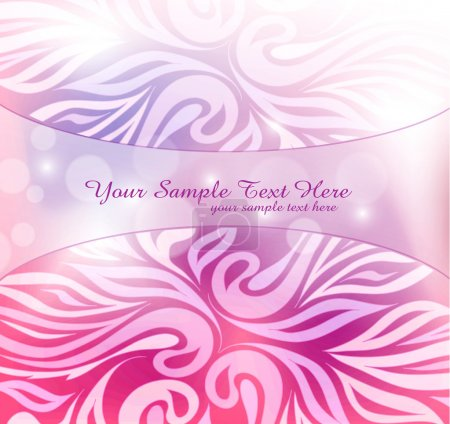 Abstract pink background with blur and pattern