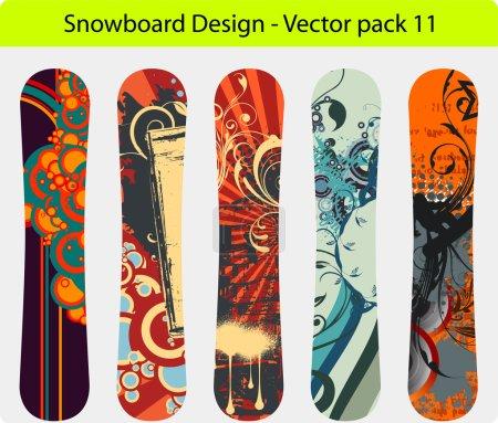 Snowboard design pack 11