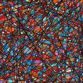 Trama di vetro colorato in tono viola. EPS 8