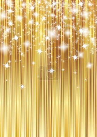 Foto de Fondo de rayas doradas - Imagen libre de derechos