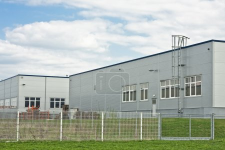 Manufacture production stockroom modern building