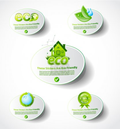 Eco sticker collection 2