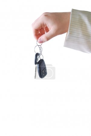 Keys from a car